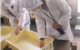 委託加工工場の衛生検査