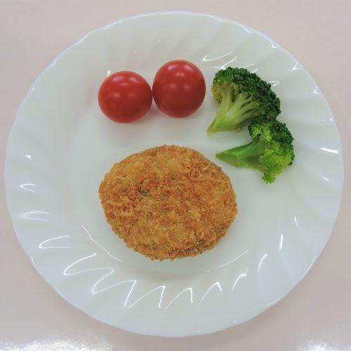 彩り野菜とキャベツのミンチカツ40g